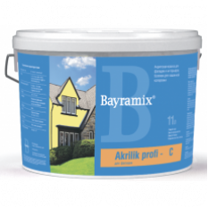 Водоэмульсионная акриловая краска Akrylik Profi База C